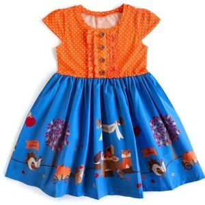Eleanor Rose Thanksgiving Grateful Blessed Dress
